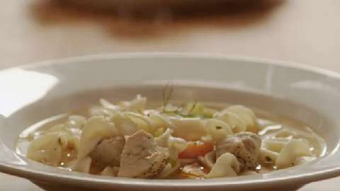 Quick and Easy Chicken Noodle Soup Video - Allrecipes.com