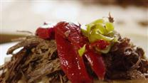Slow Cooker Italian Beef for Sandwiches