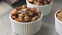 Savory Gorgonzola Bread Pudding