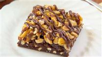 Fudgy Pretzel Brownies