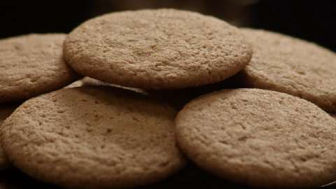 Spiced ginger cookies recipe
