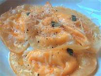 Easy Butternut Squash Ravioli