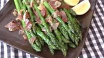 Asparagus with Ham and Lemon