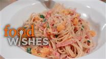 Simple Ham and Squash Spaghetti