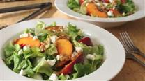 Peach and Escarole Salad