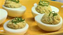 Dannon Oikos Curried Deviled Eggs