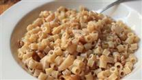 Goat Cheese Apple Walnut Pasta