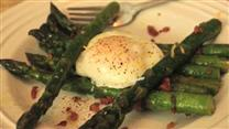 Roasted Asparagus with Prosciutto &amp; Poached Egg