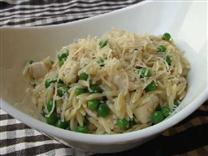 Chicken Asiago and Orzo Pasta
