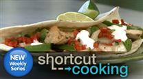 Shortcut Chicken Fajitas
