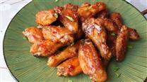 Spicy PBJ Wings
