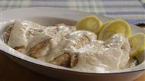 Garlic Alfredo Tilapia