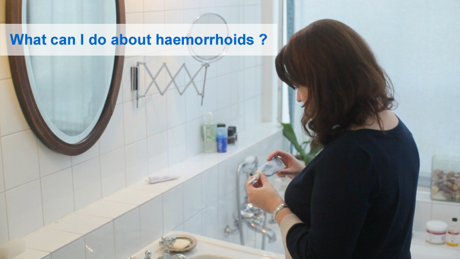 What can I do about haemorrhoids?