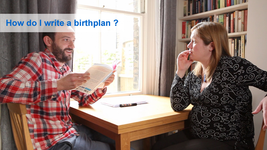 How do I write a birth plan?