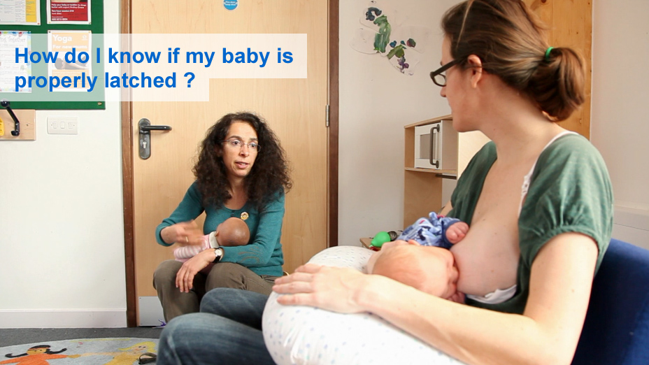 How do I know if my baby is properly latched?