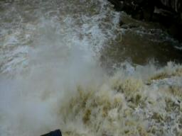 Black River Rages at Cascade Park