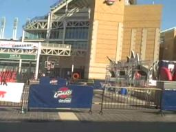Cleveland Cavaliers Fans check out Fan Fest