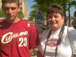 Fans travel many hours to see there Cavaliers