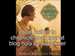 Pam Ewen kicks off book tour with The Moon in the Mango Tree