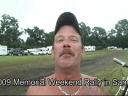 Louisiana bikers brave mud at Mississippi rally Memorial Day 20