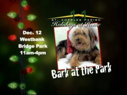 St. Charles Parish's First-Ever Pet Festival - Bark at the Bridge Park!