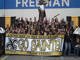 Freeman Who Dats