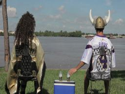 New Corona Commercial spoof featuring Saints and Vikings fans