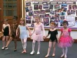 Future ballet stars!