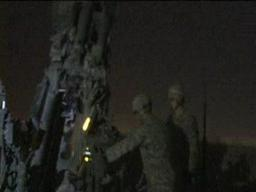108th FA Night Fire