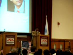 Dinesh D'Souza at UMass