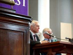 Wesley Clark at Amherst College