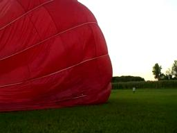 Deflating a Hot Air Balloon