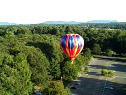 Hot Air Balloon Versus Trees