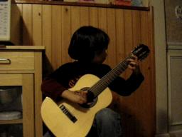 5 years old Classical Guitarist