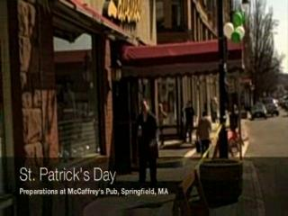 St. Patrick's Day: Noon at McCaffrey's