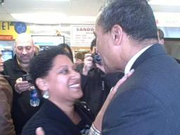 Gov. Deval Patrick at the Puerto Rico Bakery