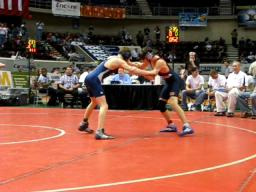 Wrestling BJHS vs CCHS