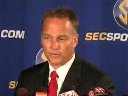 Mark Richt, Georgia Bulldogs Head Coach, at 2009 SEC Media Days