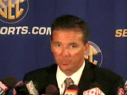 Urban Meyer, Florida Gators Head Coach, at 2009 SEC Media Days