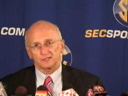 Rogers Redding, SEC Coordinator of Officiating, at 2009 SEC Med