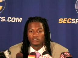 SAF Kendrick Lewis, Ole Miss Rebels, at 2009 SEC Media Days