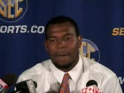 LB Ryan Stamper, Florida Gators, at 2009 SEC Media Days
