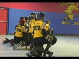 Big Easy Roller girls January interleague bout