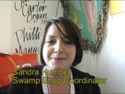Swamp Shop guru Sandra Humbel does Fund Drive 2008
