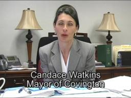 Covington mayor delivers first internet state of the city month