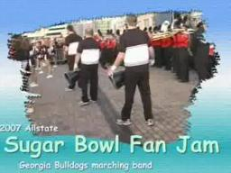 74th Sugar Bowl - Georgia Bulldogs Band
