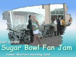 74th Sugar Bowl - Hawaii Warriors Band