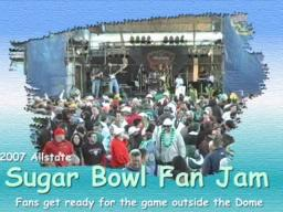 74th Sugar Bowl Fan Jam in New Orleans