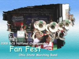 2008 BCS National Championship - Ohio State Band