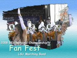 2008 BCS National Championship - LSU Band